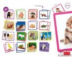 Állatok - Memóriajáték - Akr 20401