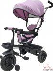 Apollo Free2Move Sport 360°-Ban Forgatható Tricikli - Rózsaszín-Fekete