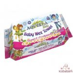 Aquella Kids Baby Nedves Törlőkendő Vitamin 72 Db
