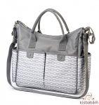 BabyOno pelenkázó táska So City! szürke mintás 1423/02