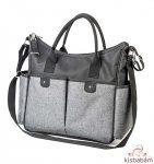 BabyOno pelenkázó táska So City! fekete-szürke 1423/03