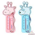 BabyOno vízhőmérő zsiráf rózsaszín/kék 775/01