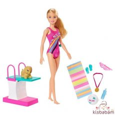 Barbie Dreamhouse: Barbie Úszóbajnok Szett