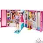 Barbie Fashionistas: Álomgardrób Szőke Hajú Babával És Kiegészítőkkel - Gbk10