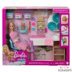 Barbie Feltöltődés - Szépségszalon Játékszett - Gjr84