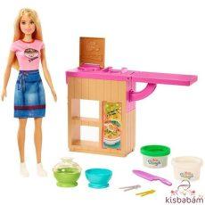 Barbie: Különleges Tésztabár Babával - Ghk43