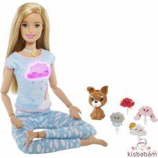 Barbie: Meditációs Baba Kutyussal, Fény- És Hanghatásokkal - Gnk01