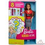 Barbie: Meglepetés Karrier Baba - Barna - Glh64