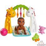 Barbie Skipper Babysitters: Kisbaba Játszószőnyeggel - Ghv83
