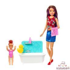 Barbie Skipper: Barna Hajú Barbie Vörös Hajú Kislánnyal - Fhy97