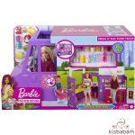 Barbie: Street Food Büfékocsi Babával - Gmw07