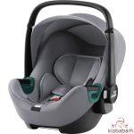 Britax Römer Baby-Safe 3 Isize Autóshordozó - Frost Grey