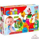Clemmy Baby: Boldog Farm Puha Építőkocka Készlet - 14954