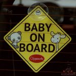 Clippasafe Baby/Child On Board Tábla 53