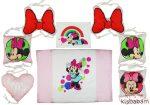 Disney Minnie 3 Részes Több Funkciós Ágynemű Szett