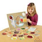 Egészséges Élelmiszerek Mágneses Készlet - Ler 0497