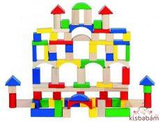 Építőkocka - Vegyes - Gk 58669