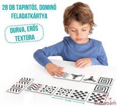 Érzékelős És Tapintós Kétoldalú Maxi Dominó (Gyengénlátóknak Is Ajánlott) - Akr 20615