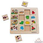 Évszakok - Szortírozó Puzzle - Be 11030