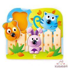 Fogantyús Puzzle - Bébi Állatok - Hp E1309A