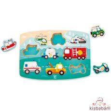 Fogantyús Puzzle - Szirénázó Jármű - Hp E1406A