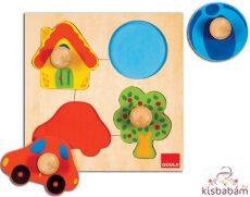Foganytús Puzzle - Formák-Színek - Jg 53015