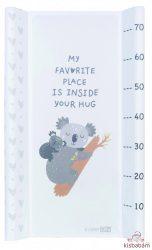 FreeON pelenkázó lap kemény aljú 50x80 cm - Koala