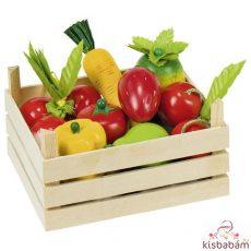 Gyümölcsök És Zöldségek Rekeszben - Gk 51658