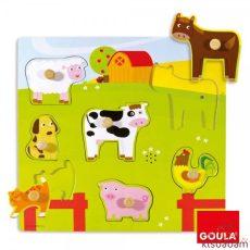 Hangot Adó Állatok - Puzzle - Jg 53081