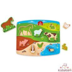 Játék És Puzzle Egyben!-Farm - Hp E1454A