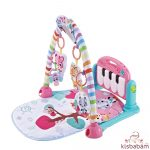 Kikkaboo játszószőnyeg zenélős pink