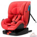 Kinderkraft Gyerekülés Vado Isofix 0-25Kg Piros