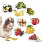 Maxi Puzzle - Egészséges Élelmiszerek - Akr 50222