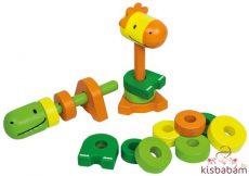 Montessori Torony - Vízszintes, Függőleges - Be 18002