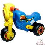 Műanyag Cross Kismotor - Kék-Sárga - 111K