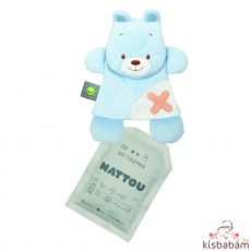 Nattou szundikendő plüss hideg/meleg terápiás gélpárnával BuddieZzz medve
