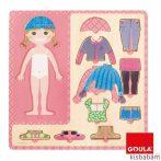 Öltöztetős Puzzle - Lány - Jg 53108