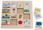 Otthonunk - Szortírozó Puzzle - Be 11040