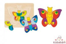 Pillangó - Rétegpuzzle - Gk 57899