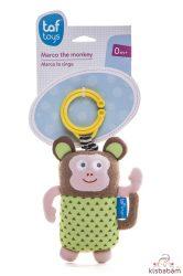 Taf Toys felhúzós rezgő csörgő  Marco, the monkey - Marco, a majom 11865