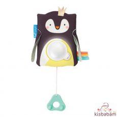Taf Toys Zenélő Éjszakai Fény Hangérzékelővel Prince Pingvin 12275