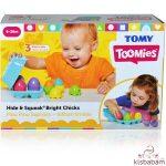Tomy Toomies: Kukucska Kiscsirkék - E73081