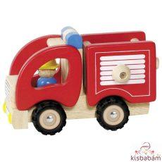 Tűzoltó Autó,Fa - Gkn 55927